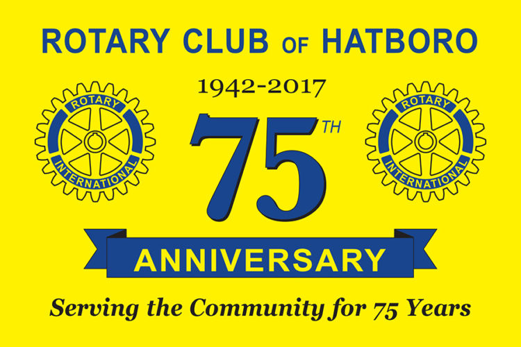 Congratulations To The Rotary Club Of Hatboro