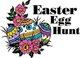 Easter Egg Clip Art Egg Hunt Flowers